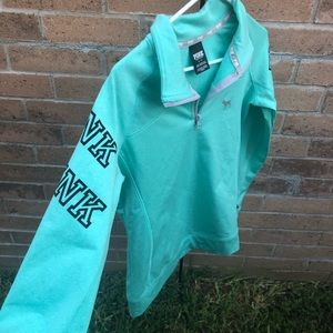 Victoria's Secret Pink pullover teal color Small
